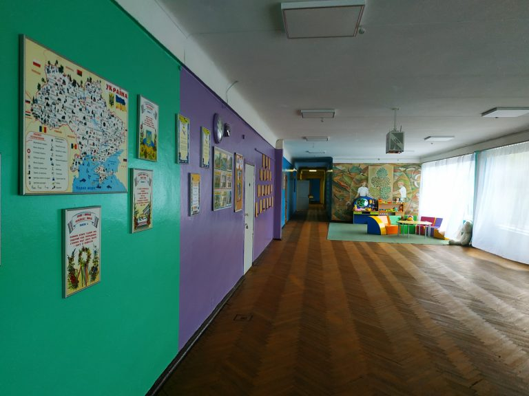 Коридор школи
